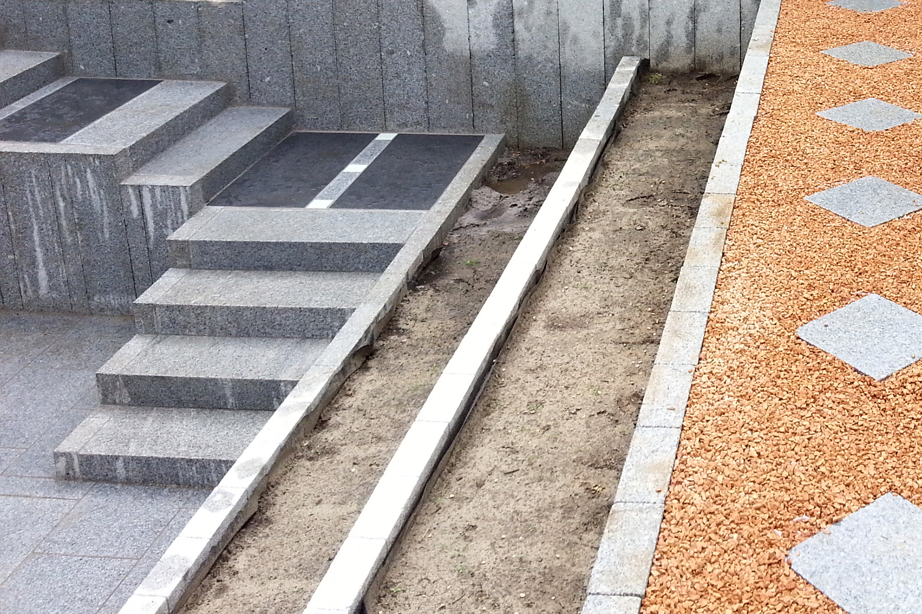 Gartenpflege Wojtkowski Terrasse aus Granit