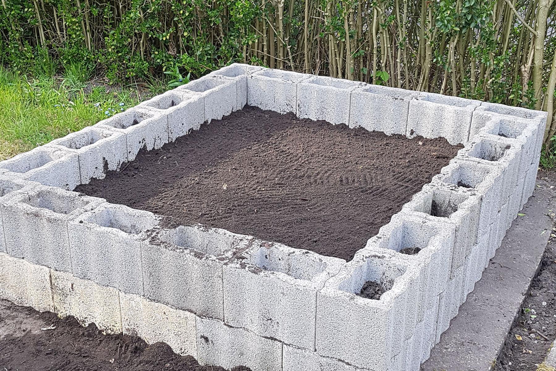Gartenpflege Wojtkowski Hochbeet aus Pflanzringen